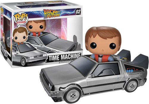 Funko Back to the Future POP! Movies Time Machine Delorean Vinyl Figure #02 [Damaged Package]