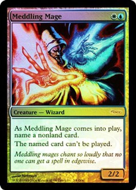 MtG DCI Judge Promo Promo Foil Meddling Mage