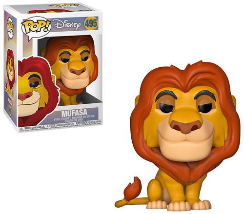 Funko The Lion King POP! Disney Mufasa Vinyl Figure #495