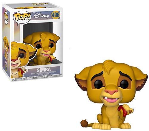 Funko The Lion King POP! Disney Simba Vinyl Figure #496 [with Bug]