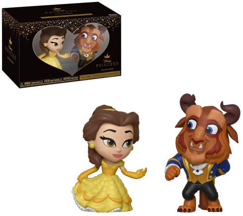 Funko Disney Princess Beauty and the Beast Beast & Belle Mini Vinyl Figures 2 Pack
