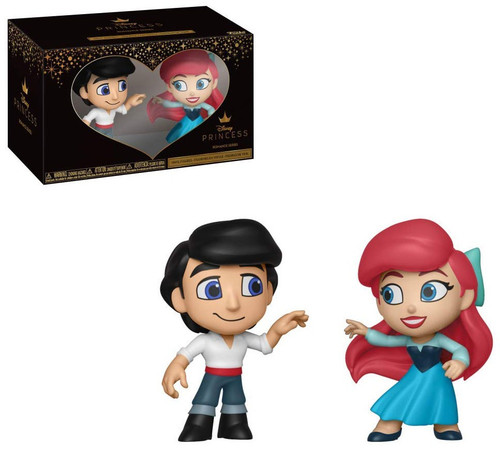 Funko Disney Princess The Little Mermaid Eric & Ariel Mini Vinyl Figures 2 Pack