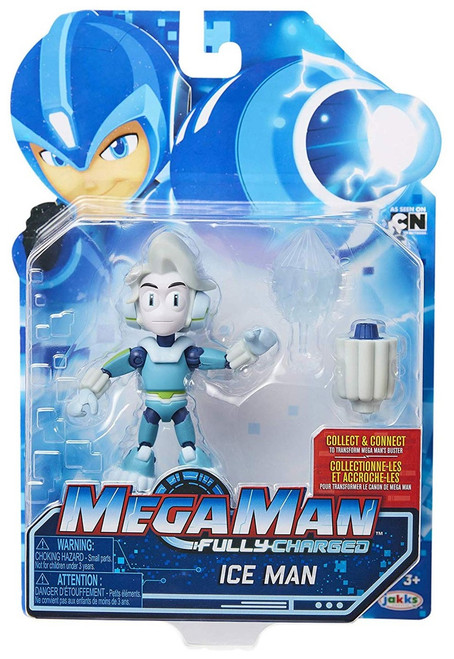 Mega Man Fully Charged Series 1 Ice Man Action Figure