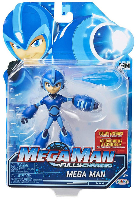 Fully Charged Series 1 Mega Man Action Figure
