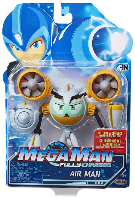 Mega Man Fully Charged Series 1 Air Man Action Figure
