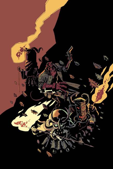 Dark Horse Hellboy #1 Winter Special 2018 Comic Book [Fabio Moon Cover B]