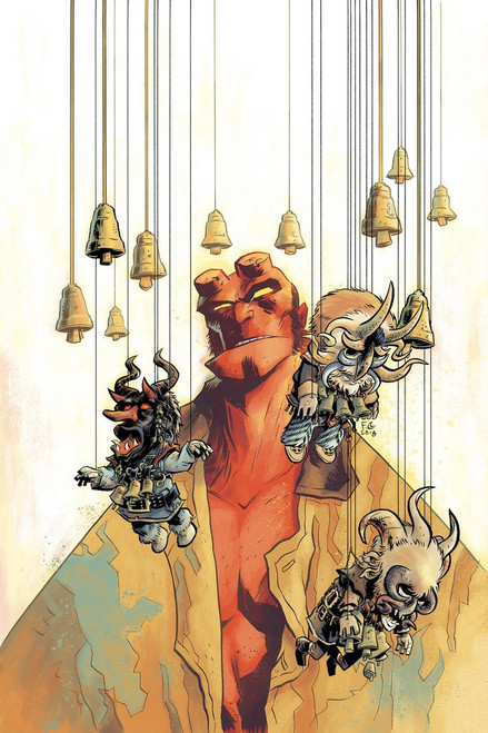 Dark Horse Hellboy #1 Winter Special 2018 Comic Book [Gabriel Ba Cover C]