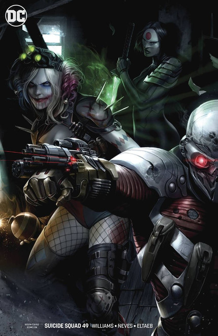 DC Suicide Squad #49 Comic Book [Francesco Mattina Variant Cover]