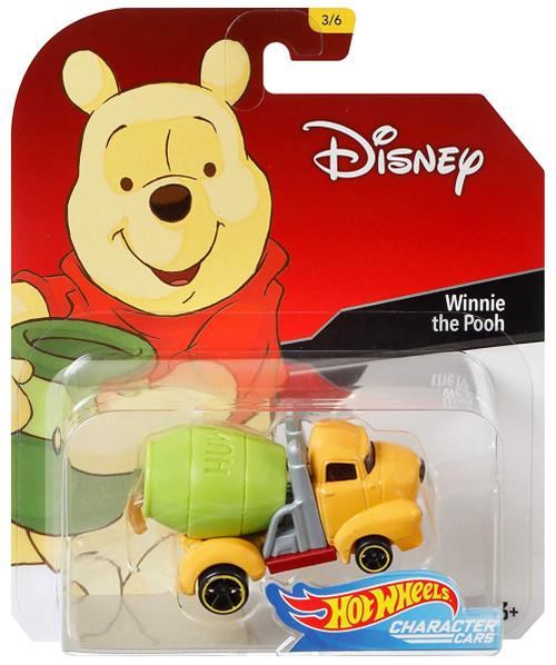 Disney Hot Wheels Character Cars Winnie the Pooh Die Cast Car #3/6