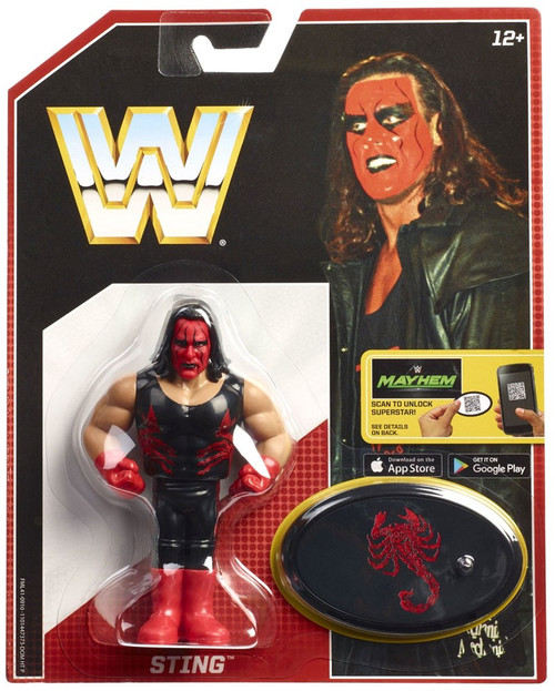 WWE Wrestling Retro Sting Action Figure [Red Face]