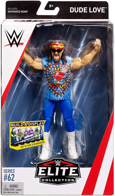 WWE Wrestling Elite Collection Series 62 Dude Love Action Figure [Entrance Gear]