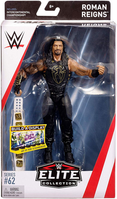 WWE Wrestling Elite Collection Series 62 Roman Reigns Action Figure [Intercontinental Championship]