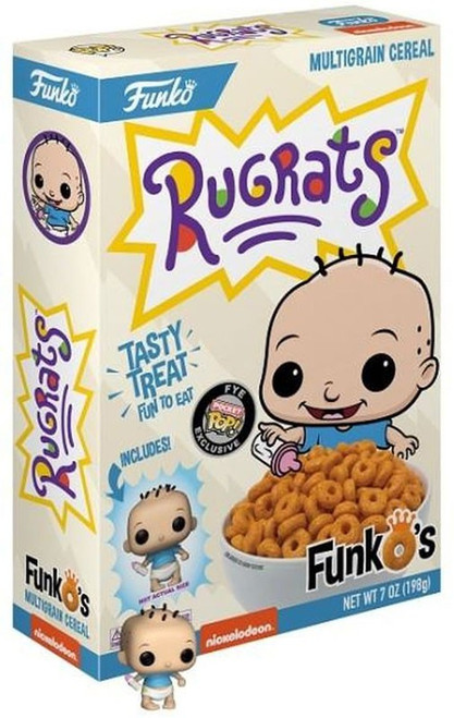FunkO's Rugrats Exclusive 7 Ounce Breakfast Cereal