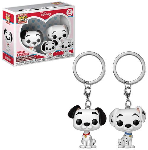 Funko 101 Dalmatians POP! Disney Pongo & Perdita Keychain 2-Pack