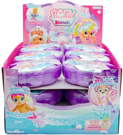 Baby Secrets Series 2 Merbabies Mystery Box [18 Packs]