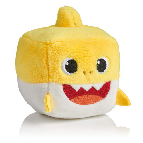 Pinkfong Baby Shark Plush Cube with Sound [Yellow]