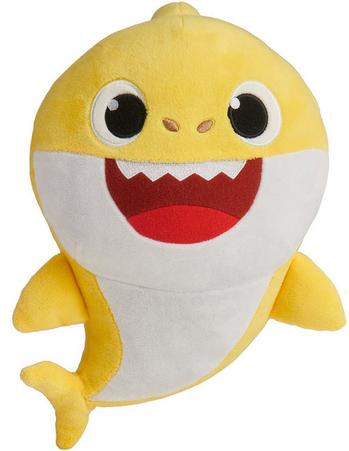 Pinkfong Baby Shark 10-Inch Plush Doll with Sound [Yellow]