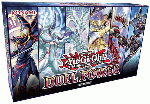 YuGiOh Trading Card Game Duel Power Box [6 Booster Packs & 6 Ultra Rare Variant Cards!]