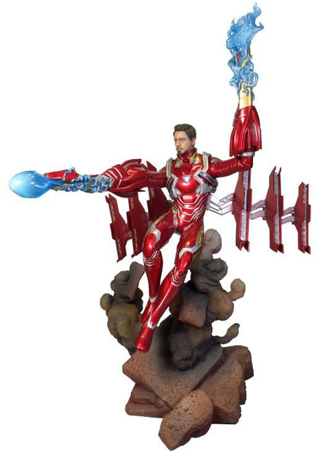 Avengers Infinity War Marvel Gallery Deluxe Iron Man Mark 50 9-Inch Collectible PVC Statue [Helmet Off]