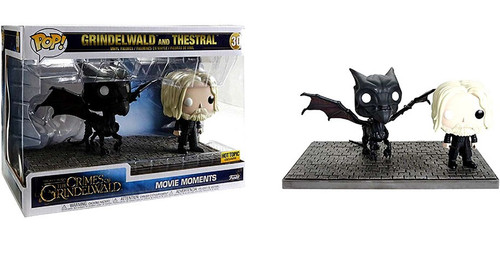 Funko Harry Potter Fantastic Beasts The Crimes of Grindelwald POP! Movies Grindelwald & Thestral Exclusive Vinyl Figure 2-Pack [Movie Moments]