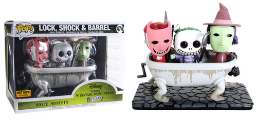 Funko Nightmare Before Christmas 25th Anniversary POP! Disney Lock, Shock & Barrel Exclusive Vinyl Figure [Movie Moments]