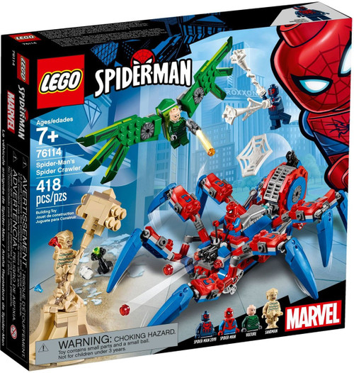LEGO Marvel Spider-Man's Spider Crawler Set #76114