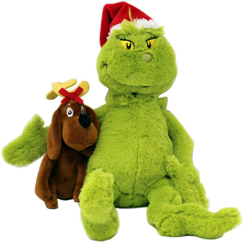 Dr. Seuss The Grinch with Max Exclusive Plush [2018]