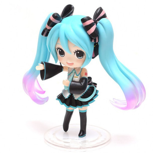 Vocaloid Doll Crystal Hatsune Miku 5.9-Inch Collectible PVC Figure [Project Diva Arcade Future Tone]