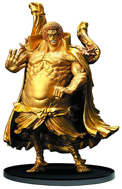 One Piece DXF Scultures BIG Modeling King Showdown At The Summit 3 Sengoku 6-Inch Collectible PVC Figure [Golden Budda]