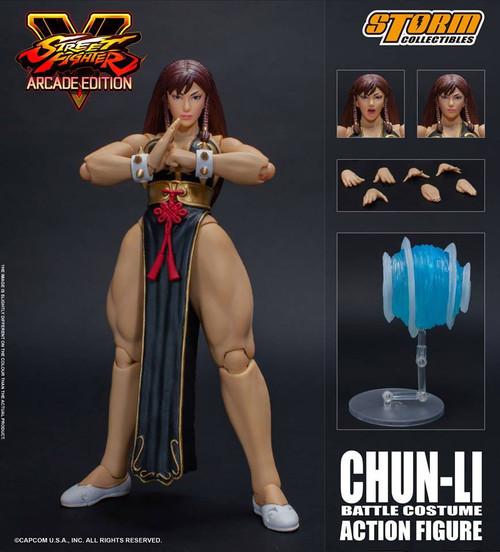 Street Fighter V Chun-Li Exclusive Action Figure