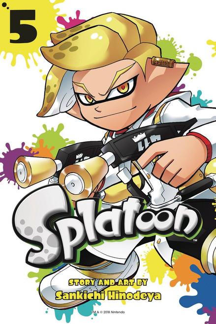Splatoon Volume 5 Manga Trade Paperback