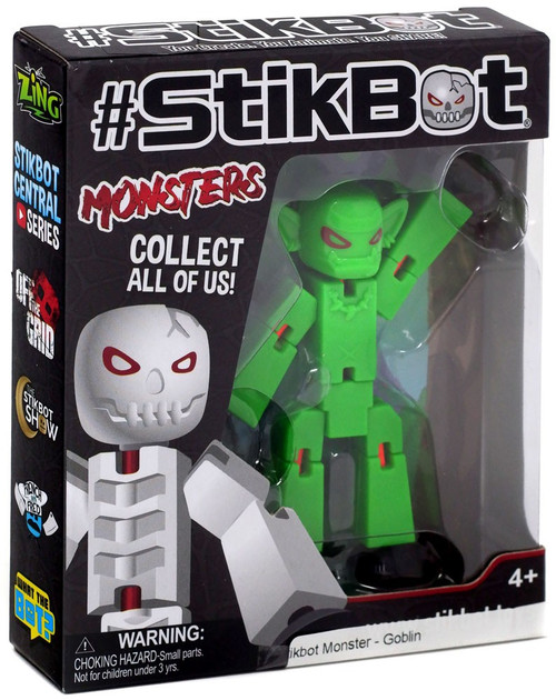 Stikbot Monsters Goblin Figure
