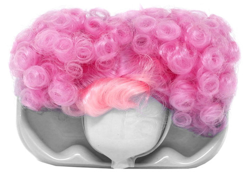 LOL Surprise 2018 LIMITED EDITION Pink Curly Puff with Bangs Brushable Hairstyle Wig [Loose]