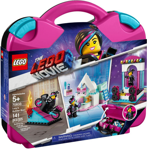 The LEGO Movie 2 Lucy's Builder Box! Exclusive Set #70833