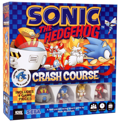 Sonic The Hedgehog Crash Course Exclusive Board Game [Limited Edition]