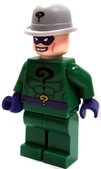 LEGO Batman The Riddler [Gray Boller Derby Loose]