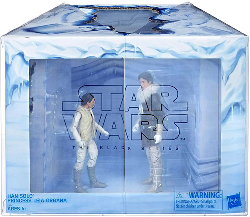 Star Wars The Empire Strikes Back Black Series Han Solo & Leia Organa Exclusive Action Figure 2-Pack [LIMIT 1 PER CUSTOMER]