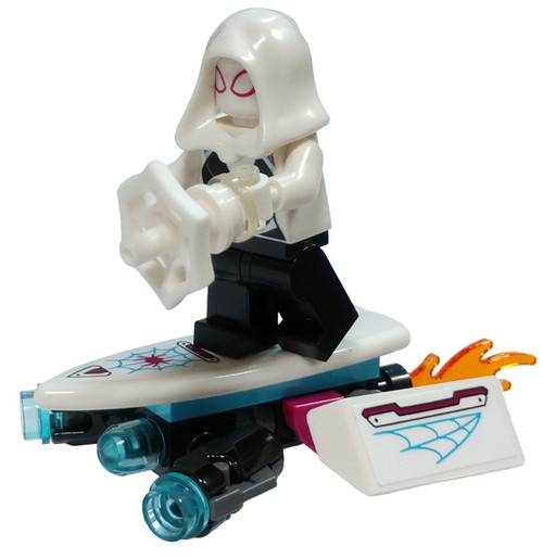 LEGO Marvel Spider-Man Ghost Spider (Spider-Gwen) Minifigure [with Hover Board Loose]