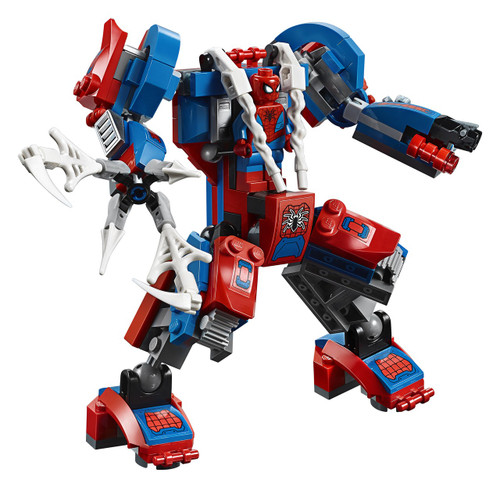 LEGO Marvel Spider-Man Spider Mech [Without Minifigures Loose]