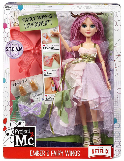 Project MC2 Ember's Fairy Wings Doll