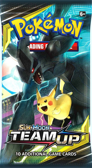 Pokemon Trading Card Game Sun & Moon Team Up Booster Pack [10 Cards]
