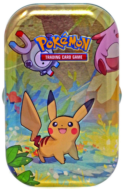 Pokemon Trading Card Game Kanto Friends Mini Tin [RANDOM, 2 Booster Packs, Promo Card & Coin!]