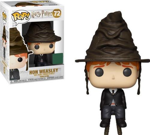 Funko Harry Potter POP! Movies Ron Weasley Exclusive Vinyl Figure #72 [Sorting Hat]