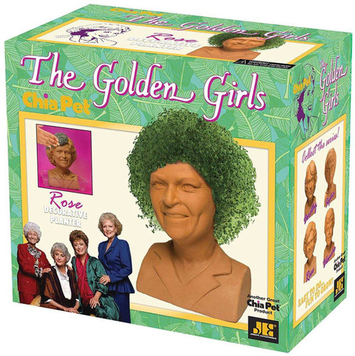 NECA Chia Golden Girls Rose Chia Pet