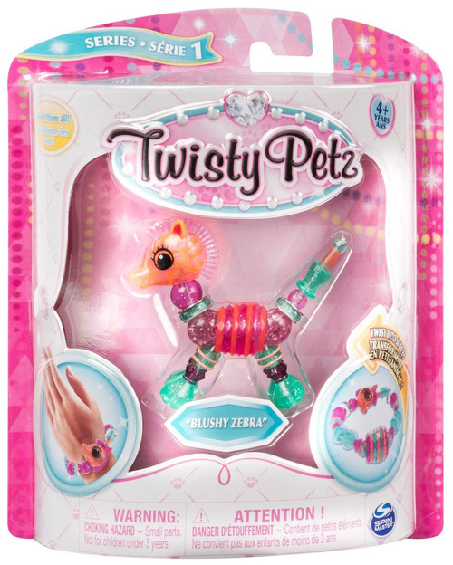 Twisty Petz Series 1 Blushy Zebra Bracelet