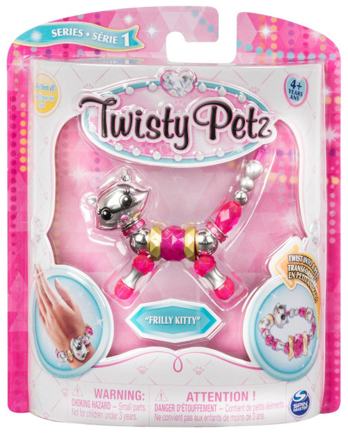 Twisty Petz Frilly Kitty Bracelet