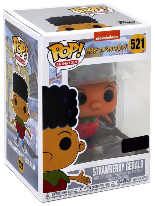 Funko Nickelodeon 90's Nick POP! Animation Strawberry Gerald Exclusive Vinyl Figure #521