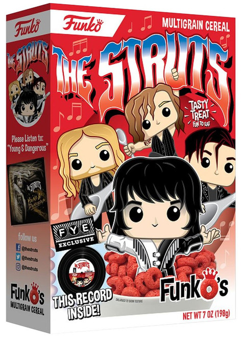 """FunkO's The Struts Exclusive Breakfast Cereal [Limited 7"""" Vinyl Record]"""