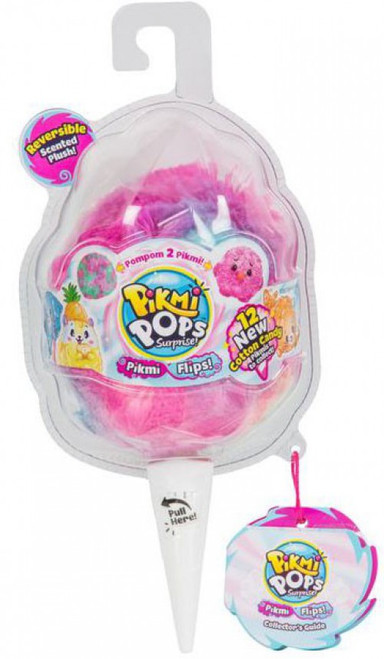 Pikmi Pops Surprise! Series 4 Flips! MEDIUM Mystery Pack [Reversible Scented Plush!]