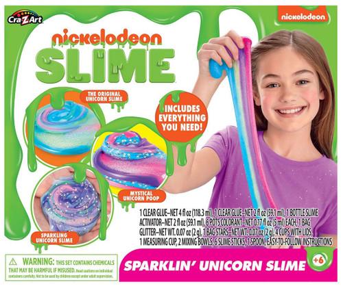 Nickelodeon Sparklin' Unicorn Slime Kit